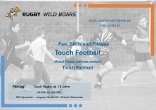Flyer Touch Football